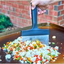 Multi-Purpose Stainless Steel Griddle Scraper