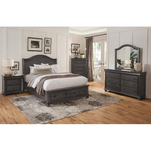 American Woodcrafters - Hyde Park Master Bedroom