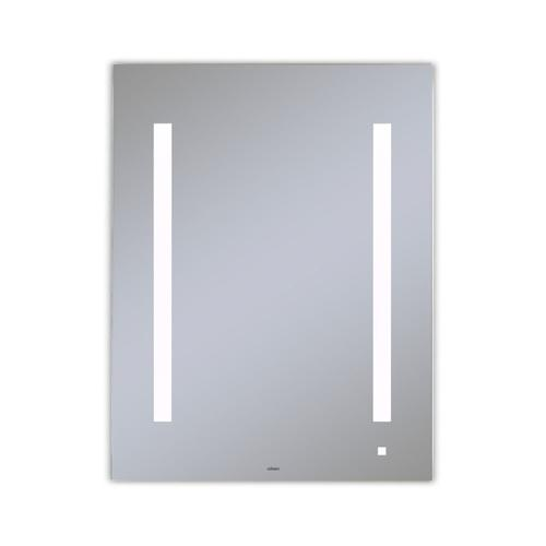 """Aio 23-1/8"""" X 29-7/8"""" X 1-1/2"""" Lighted Mirror With Lum Lighting At 4000 Kelvin Temperature (cool Light), Dimmable, Usb Charging Ports and Om Audio"""