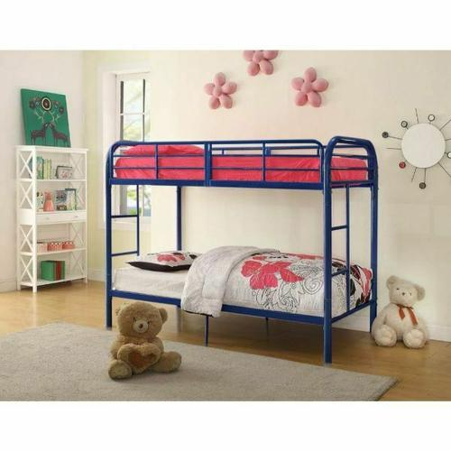 ACME Thomas Twin/Twin Bunk Bed - 02178BU - Blue