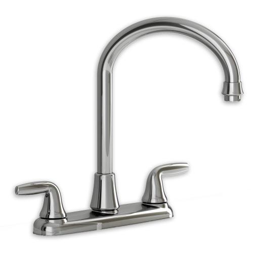 American Standard - Jocelyn 2-Handle High-Arc Kitchen Faucet  American Standard - Polished Chrome
