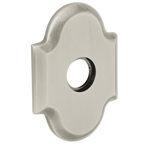 Baldwin - Polished Nickel with Lifetime Finish R030 Arch Rose