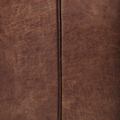 King Size Vintage Tobacco Cover Dixon Headboard