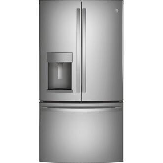 GE® ENERGY STAR® 27.7 Cu. Ft. Fingerprint Resistant French-Door Refrigerator Product Image