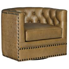 View Product - Lennox Tufted Swivel Chair