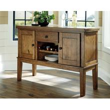 Flaybern Dining Room Server Brown