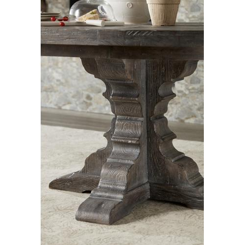 Hooker Furniture - Beaumont Round Dining Table with 48in Wood Top w/2-12in leaves