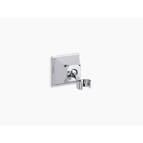 Vibrant Brushed Nickel Adjustable Wall-mount Holder