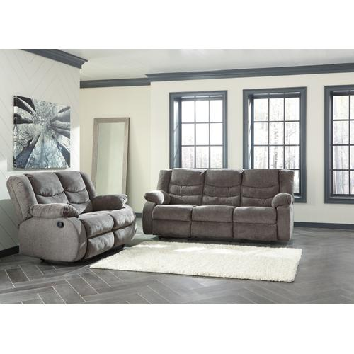 Tulen Reclining Sofa & Loveseat Gray