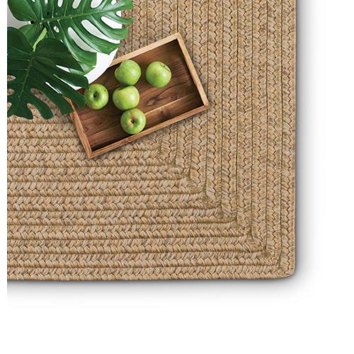 Simplicity Flax Braided Rugs (Custom)