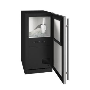 """U-LineAnb115 / Anp115 15"""" Nugget Ice Machine With Stainless Solid Finish, No (115 V/60 Hz Volts /60 Hz Hz)"""