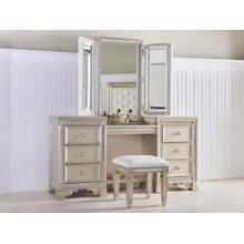 See Details - Gracie Vanity Table with Mirror