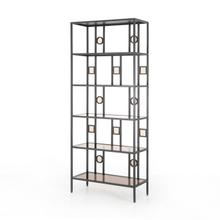 Nicos Bookshelf-dark Gunmetal