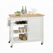 ACME Ottawa Kitchen Cart - 98315 - Natural & White