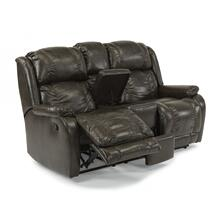 Marcus Reclining Loveseat with Console