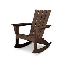 View Product - Quattro Adirondack Rocking Chair in Mahogany