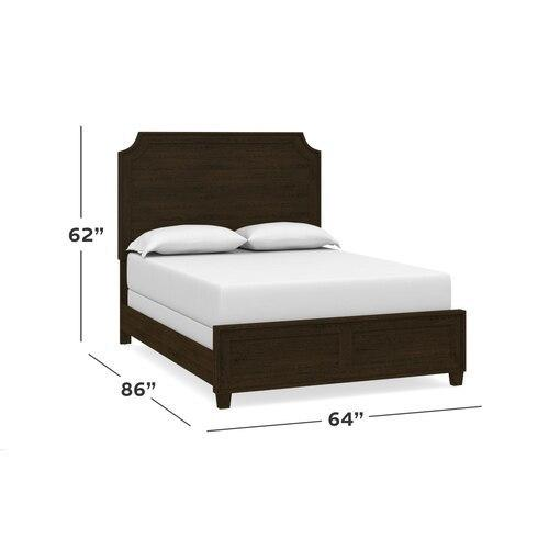 Ventura Colors Cal King Panel Bed, Footboard Low