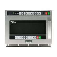 Sharp TwinTouch 2200 Watt Commercial Microwave Oven with Dual TouchPads