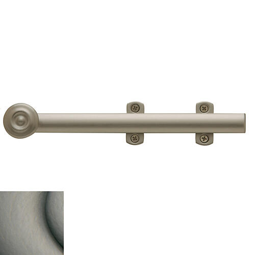 Baldwin - Antique Nickel Decorative Heavy Duty Surface Bolt