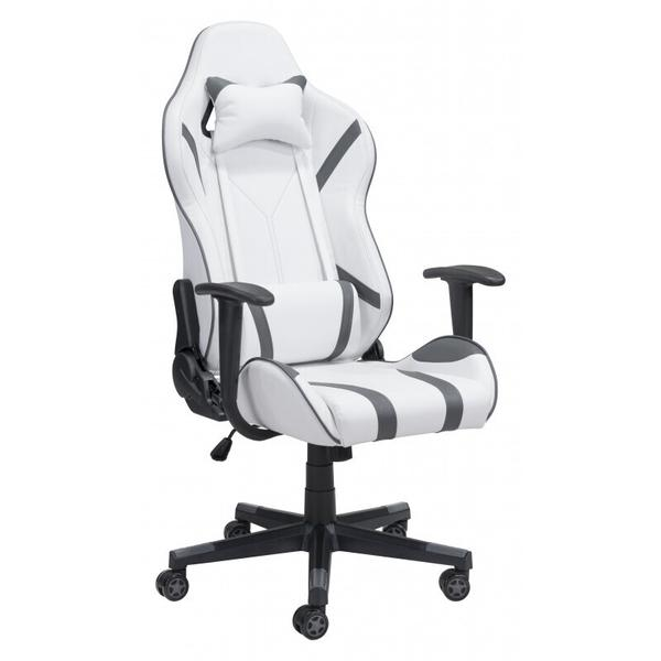 See Details - Android Gaming Chair White & Gray