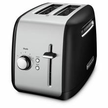 See Details - 2-Slice Toaster with manual lift lever - Onyx Black