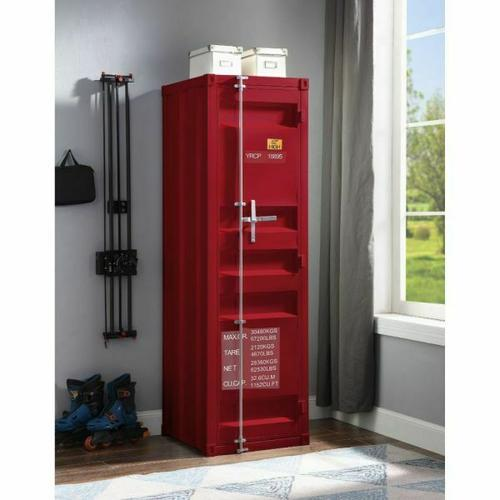ACME Cargo Wardrobe (Single Door) - 35955 - Red