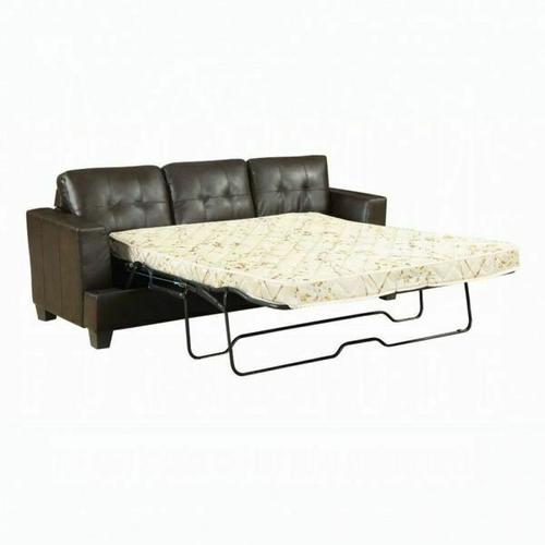 ACME Platinum Sofa w/Queen Sleeper - 15060 - Brown Bonded Leather