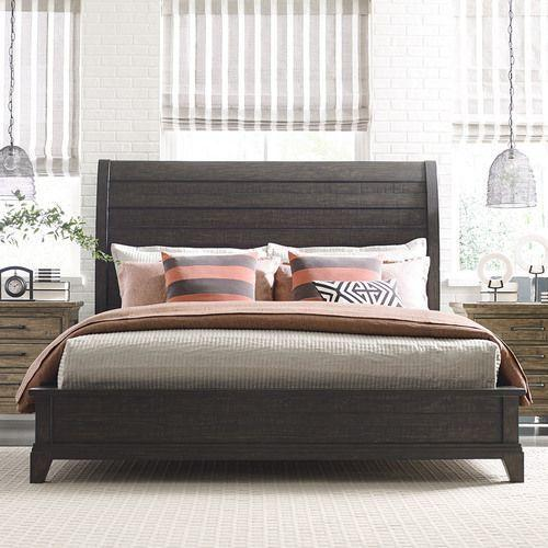 Plank Road Eastburn Sleigh Bed Package 6/6