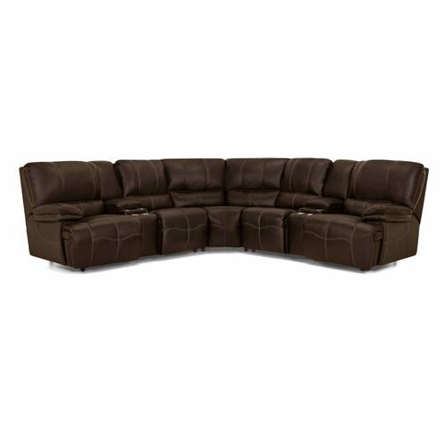 787 Boulder Leather Sectional