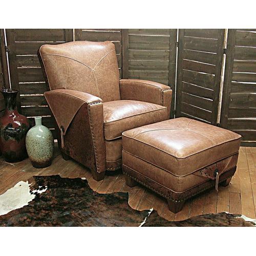 Hollister (Leather) Storage Ottoman