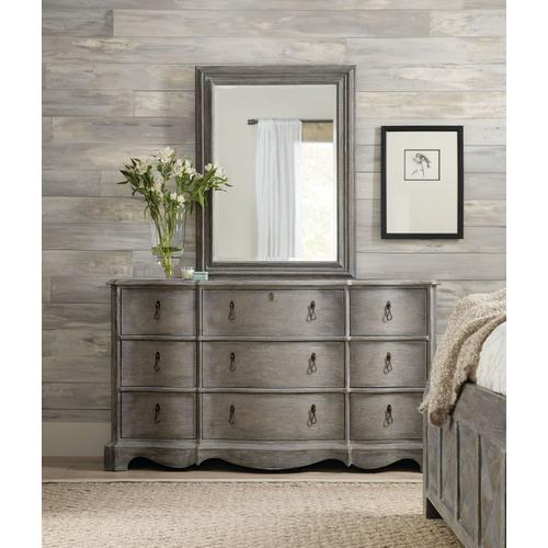 Bedroom Beaumont Nine-Drawer Dresser