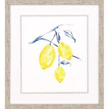 See Details - Watercolor Lemons I