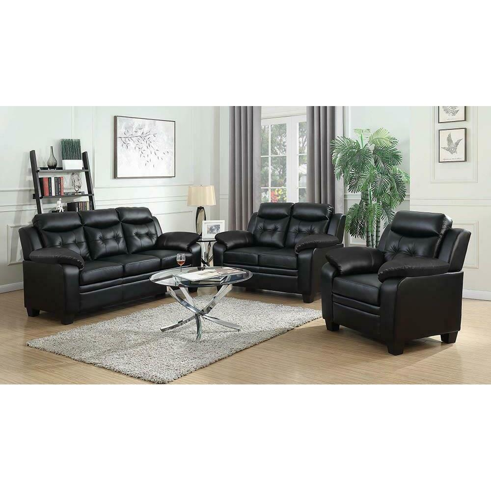 See Details - Finley Casual Black Chair