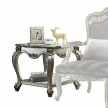 ACME Picardy End Table - 83467 - Antique Platinum