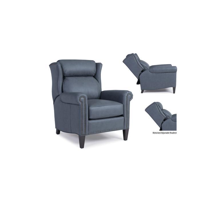 Leather Motorized Tiltback Chair / Headrest