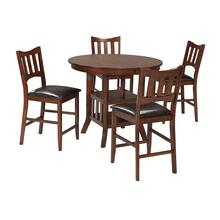 Renaburg - Medium Brown 5 Piece Dining Room Set