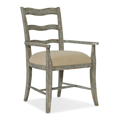 Dining Room Alfresco La Riva Upholstered Seat Arm Chair - 2 per carton/price ea