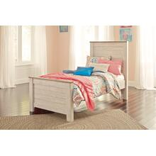 Willowton - Whitewash 3 Piece Bed (Twin)