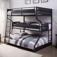 See Details - Lodida Full/twin/queen Bunk Bed