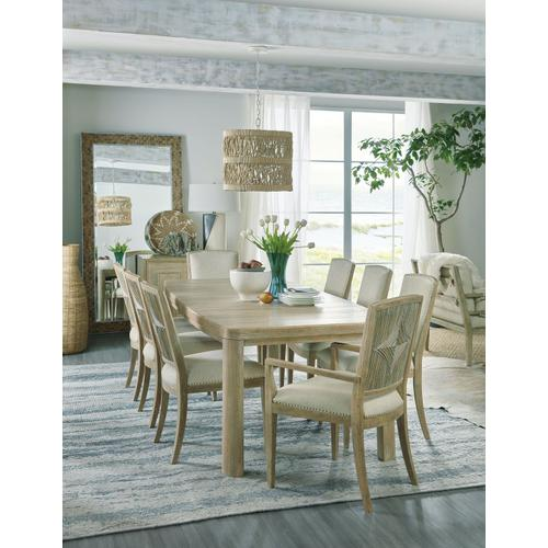 Dining Room Surfrider Rectangle Dining Table w/1-18in leaf