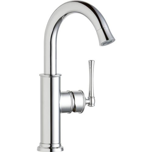 Elkay - Elkay Explore Single Hole Bar Faucet with Forward Only Lever Handle Chrome