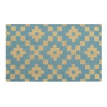 Doormat Mathis Turquoise 18x30