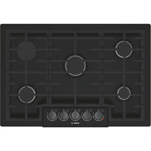 Bosch800 Series Gas Cooktop 30'' Black NGM8046UC