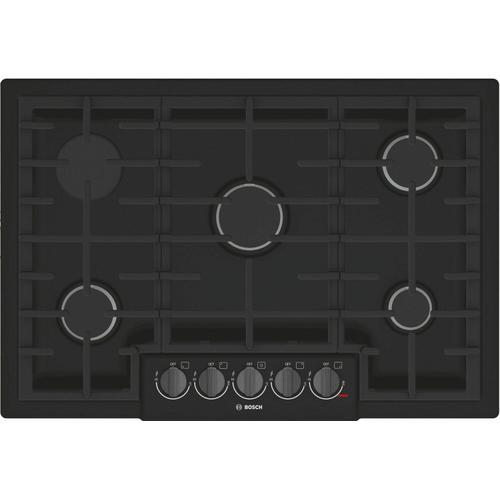 Bosch - 800 Series Gas Cooktop 30'' Black NGM8046UC