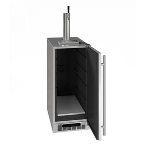 "U-Line15"" Beer Dispenser With Stainless Solid Finish (115 V/60 Hz Volts /60 Hz Hz)"
