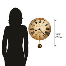 See Details - Howard Miller J. H. Gould and Co. II Wall Clock 620257