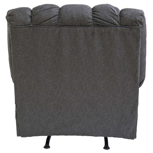 Manual Rocker Recliner with Heat and Massage