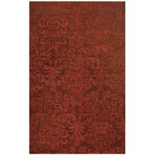 Filigree Persimmon Hand Tufted Rugs