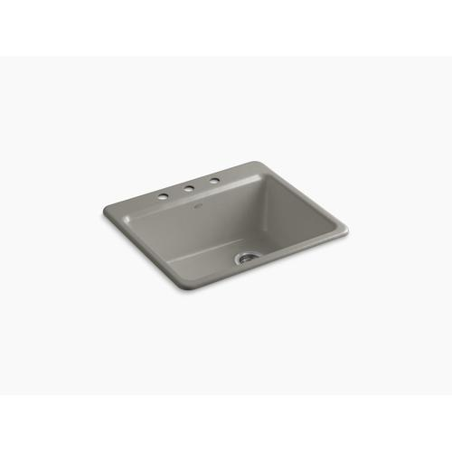 """Cashmere 25"""" X22"""" X 9-5/8"""" Top-mount Single-bowl Kitchen Sink With Sink Rack"""