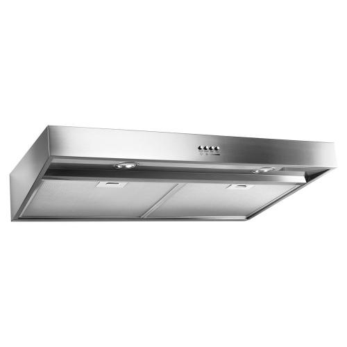 """Gallery - 36"""" Range Hood with Dishwasher-Safe Full-Width Grease Filters"""